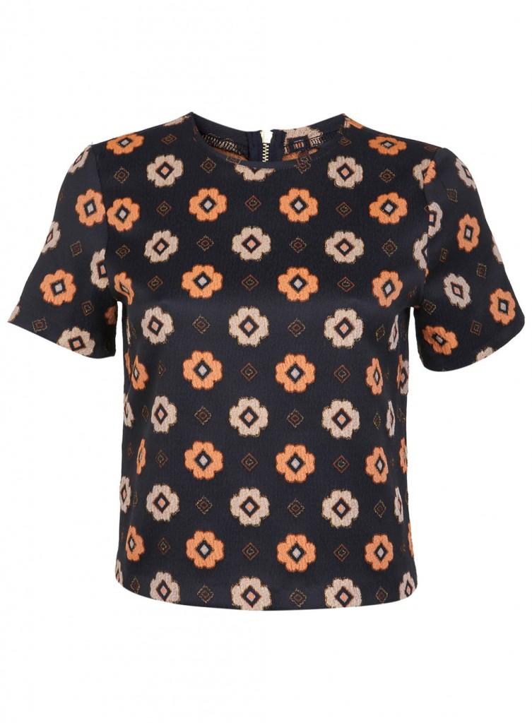 Gio Jacquard T Shirt     Price: £35.00 click to visit Miss Selfridge