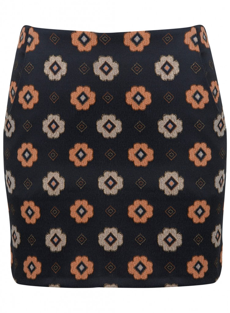 Gio Jacquard Mini Skirt     Price: £32.00 click to visit Miss Selfridge