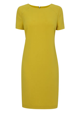 Ochre Pocket Crepe Tunic Dress     Price: £25.00 click to visit BHS
