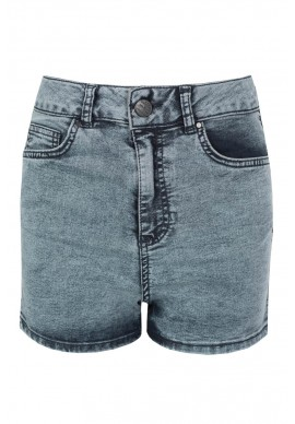 Light Acid Wash High Waist Shorts £10.99 click to visit Select