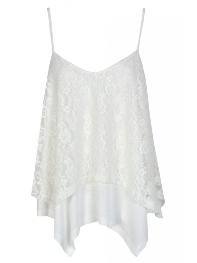 Double Layer Lace Cami £8 click to visit Select