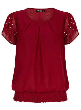 Embellished top     Was £36.00     Now £18.00 click to visit Dorothy Perkins