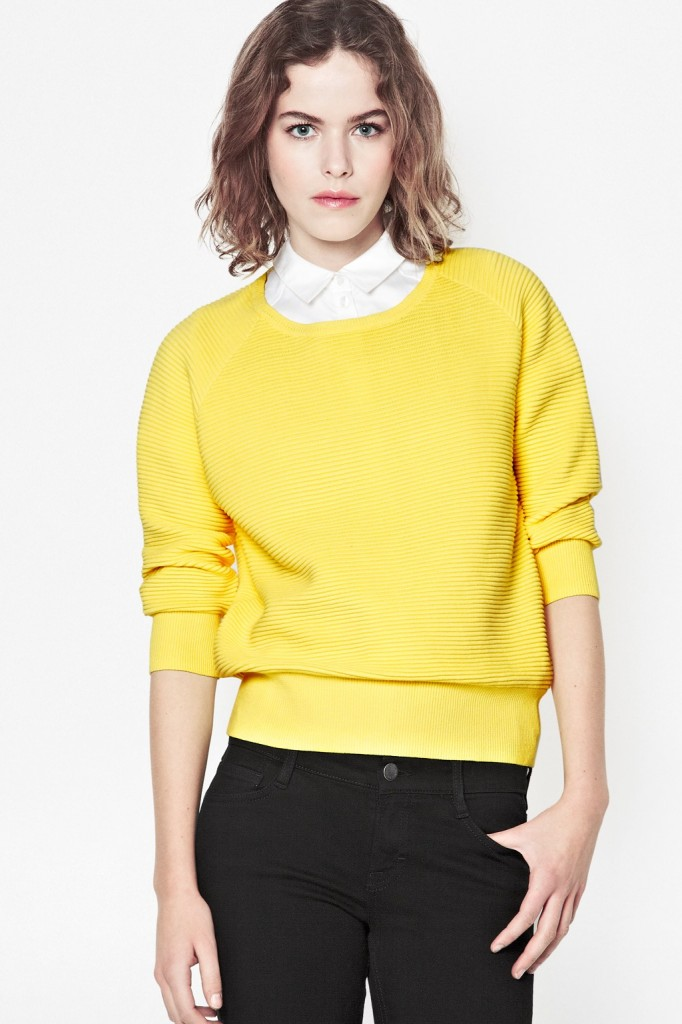 Summer Mozart Ribbed Jumper £49.00 click to visit French Connection