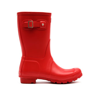 Hunter Wellies - Original Short - Red £69.99 click to visit Cloggs