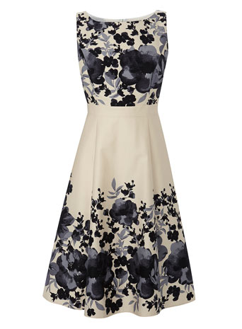Petites Champagne Border Prom Dress     Price: £55.00 click to visit BHS