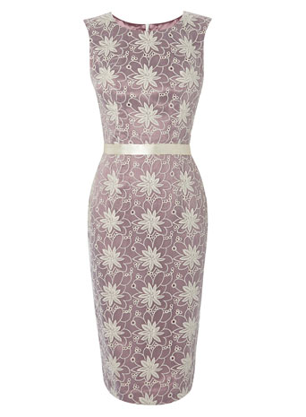 Pink Organza Floral Shift Dress     Price: £55.00 click to visit BHS