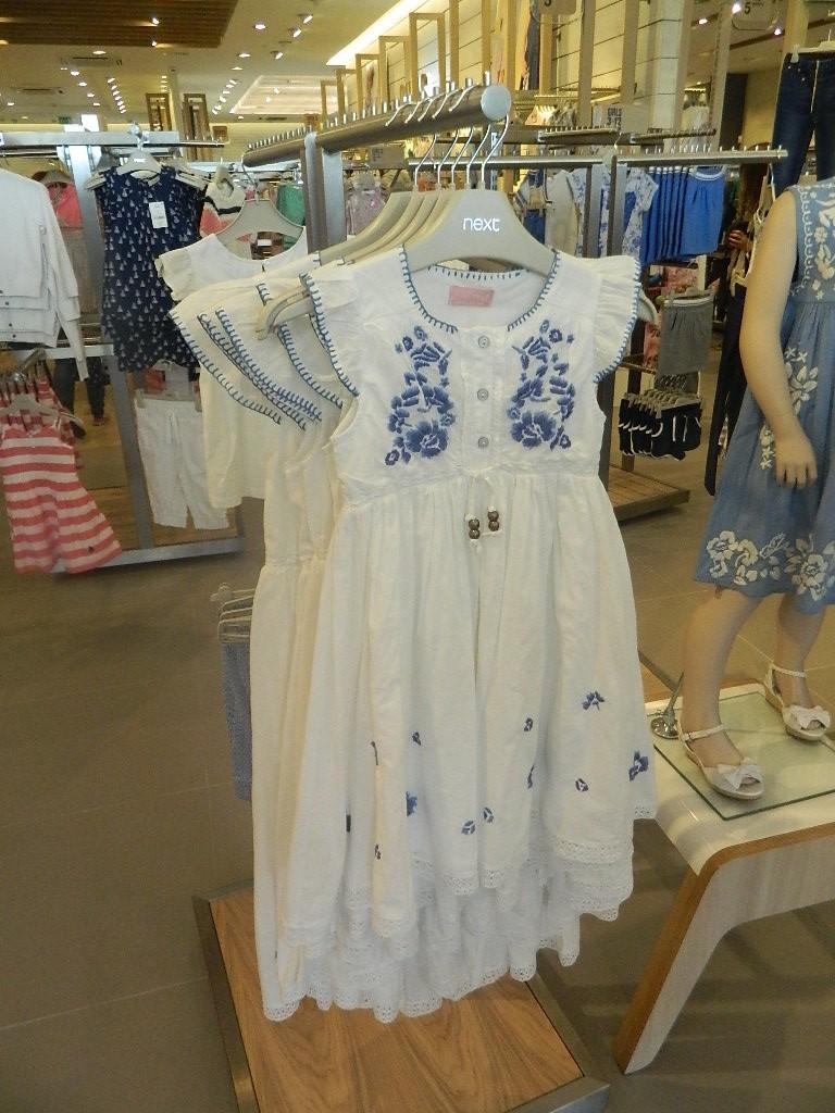 White Dress (3-16yrs) £22- £29 click to visit Next