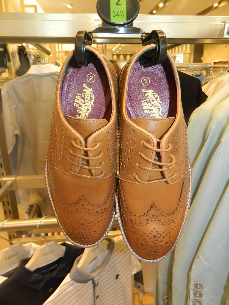 Leather Brogues £26 - £32 click to visit Next