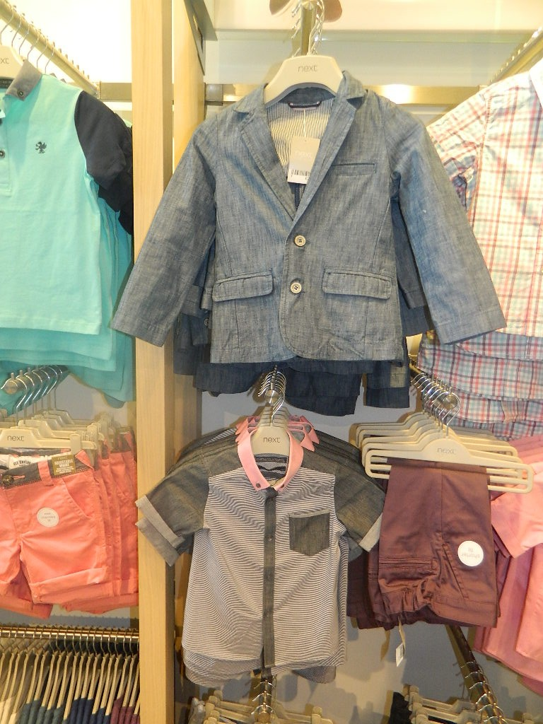 Chambray Blazer (3mths-6yrs) £23-£25 click to visit Next