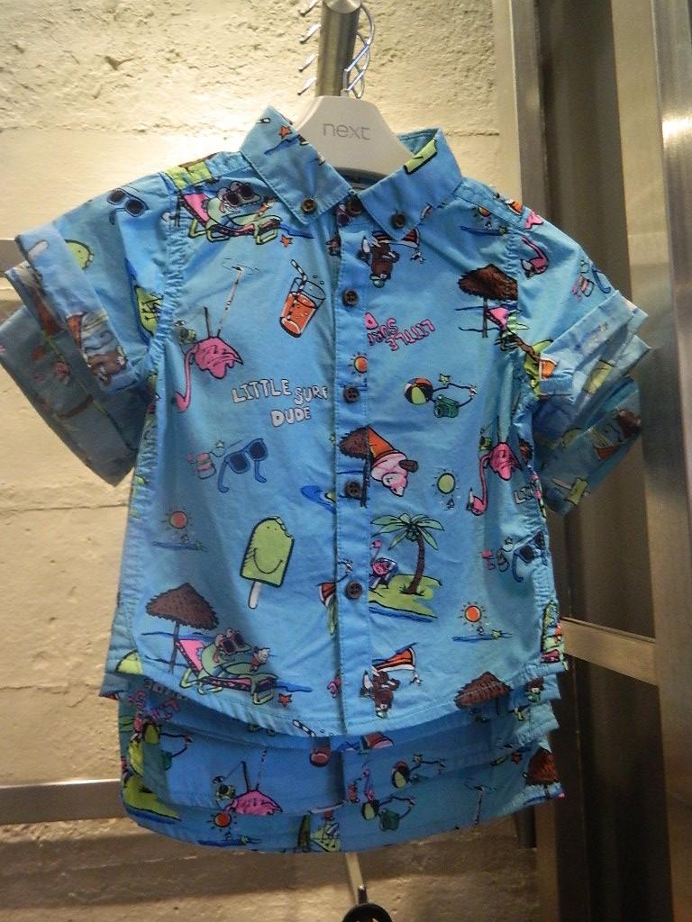 Bright Printed Shirt £8-£9 click to visit Next