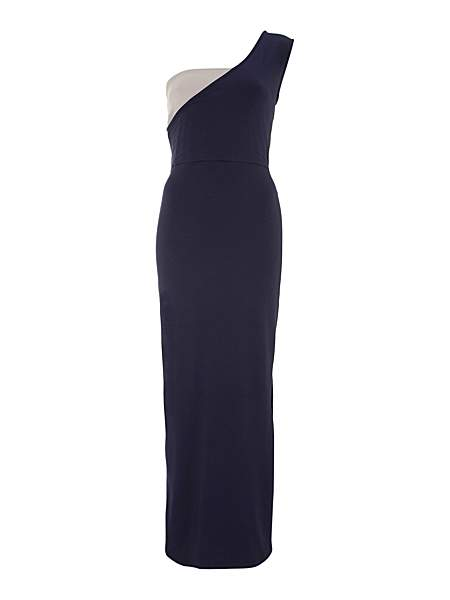 Kilian Kerner Senses One shoulder maxi dress £59 click to visit House of Fraser
