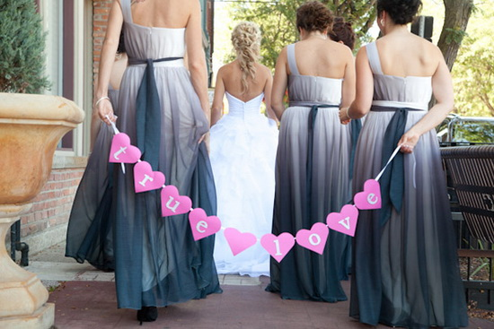 Grey Ombre dresses