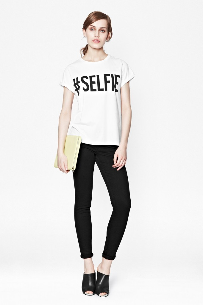 #Selfie Cotton T-Shirt     #Selfie Cotton T-Shirt     #Selfie Cotton T-Shirt #Selfie Cotton T-Shirt £20.00 click to visit French Connection