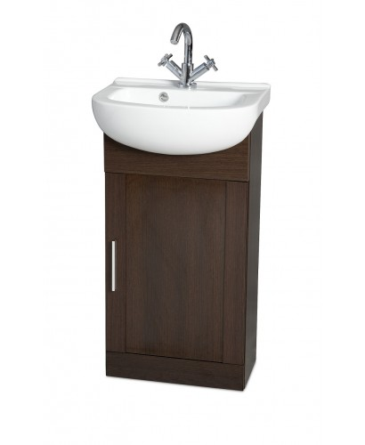 slim and streamlined vanity unit.