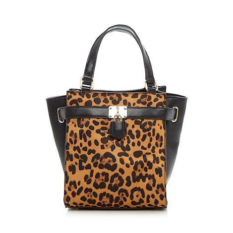 Red Herring Black leopard print grab bag Was £29.00 Now £23.20 click to visit Debenhams Save a total of £5.80