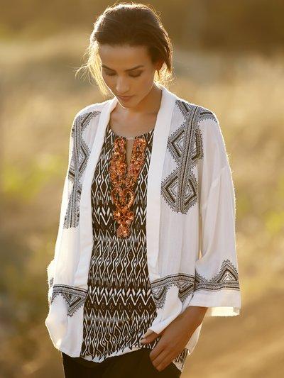 Embroidered kimono £35 click to visit M&Co