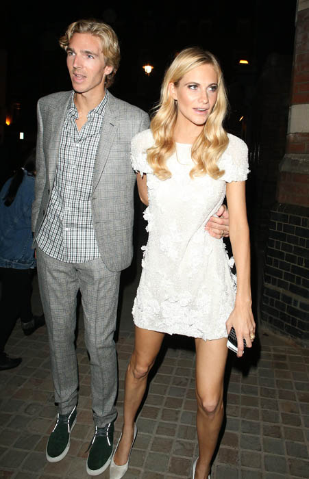 Poppy Delevingne & James Cook At The Firehouse For Wedding AfterParty