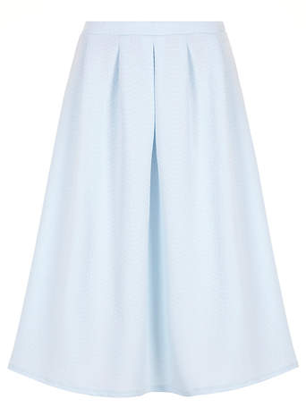 Blue Quilted Full Midi Skirt     Price: £28.00 click to visit Dorothy Perkins