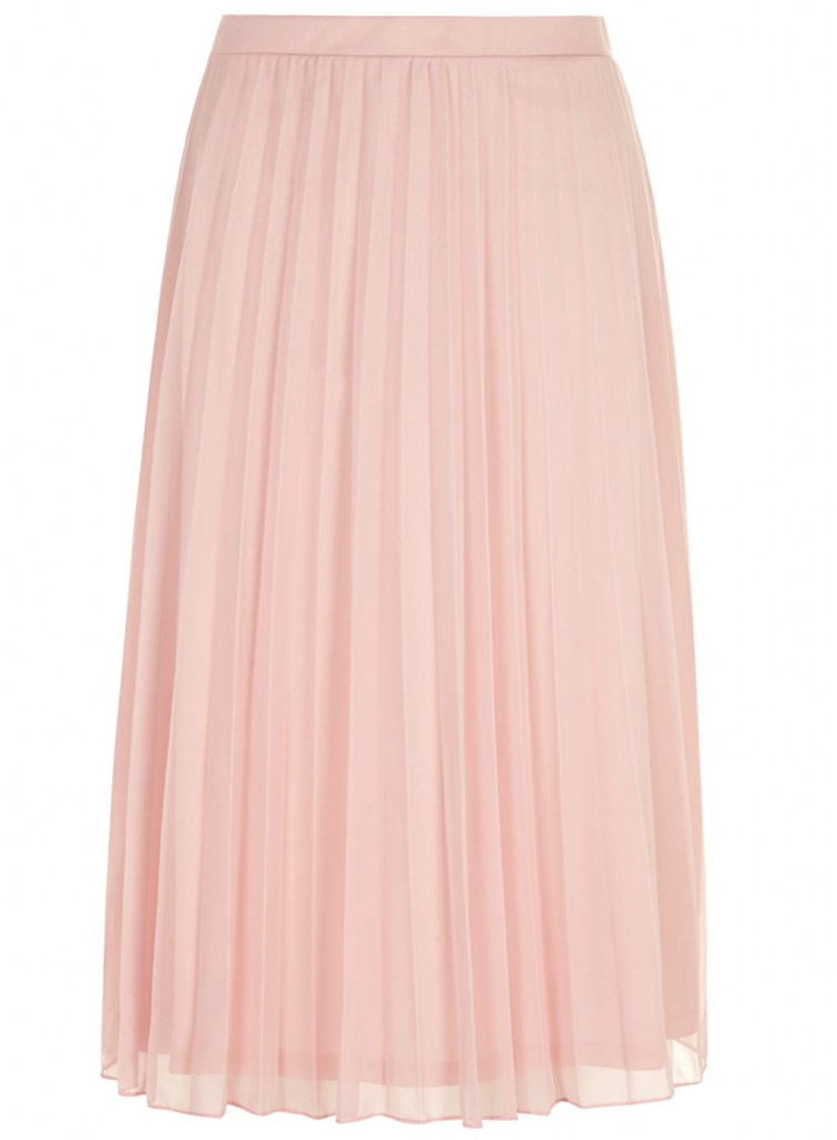 Tall Dusty Pink Mesh Midi Skirt     Price: £22.00  click to visit Dorothy Perkins