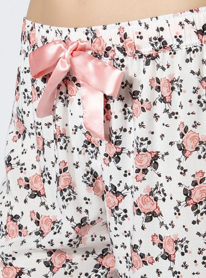 Rosie floral pyjama pants £20.00 click to visit Boux Avenue