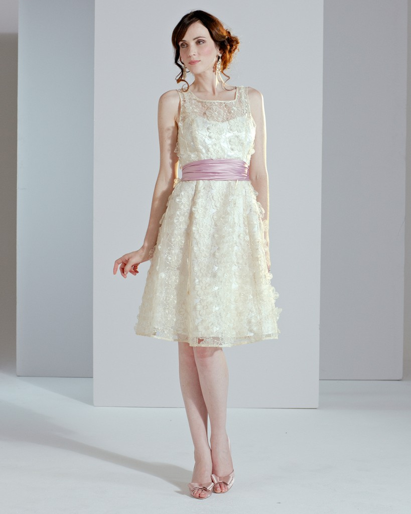Lulu Flower Wedding Dress £250.00 click to visit Phase Eight