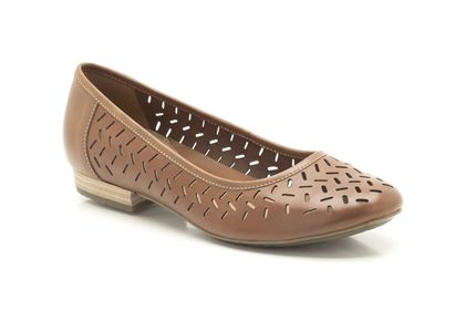Henderson Silk 5 (3 reviews) Dark Tan Leather Womens Casual Shoes £50 click to visit Clarks