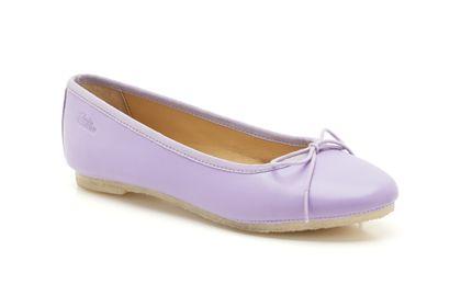 Lia Grace Lilac Leather Womens Originals Shoes £49 click to visit Clarks