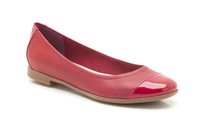 Atomic Haze 5 (1 review) Red Combi Leather Womens Smart Shoes £39.99 click to visit Clarks