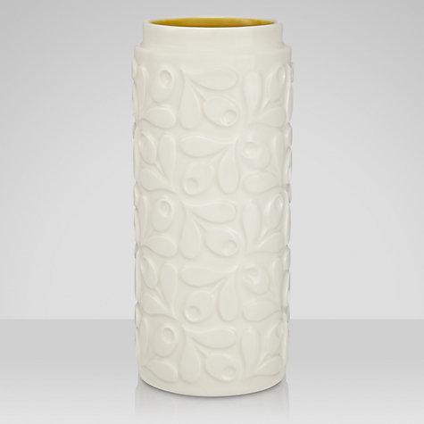Orla Kiely Acorn Ceramic Vase, Cream/Yellow, Small £22 click to visit John Lewis