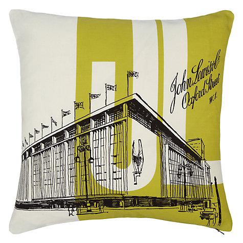 John Lewis Oxford Street Cushion, Citrine £20 click to visit John Lewis