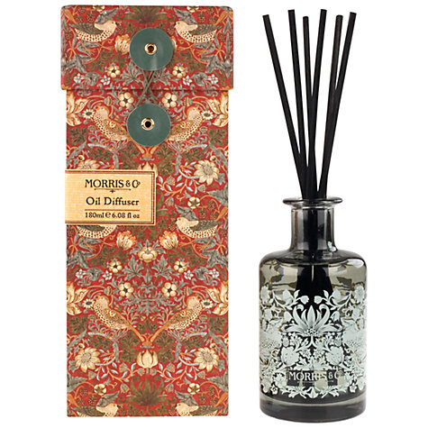 Heathcote & Ivory Morris & Co. Reeds and Oil Diffuser, 150ml £24 click to visit John Lewis