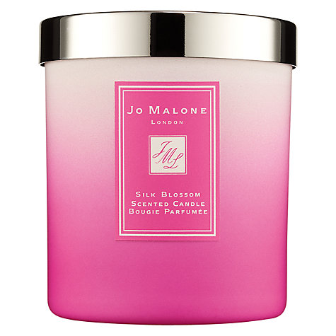 Jo Malone Silk Blossom Limited Edition Scented Candle, 200g £42 click to visit John Lewis