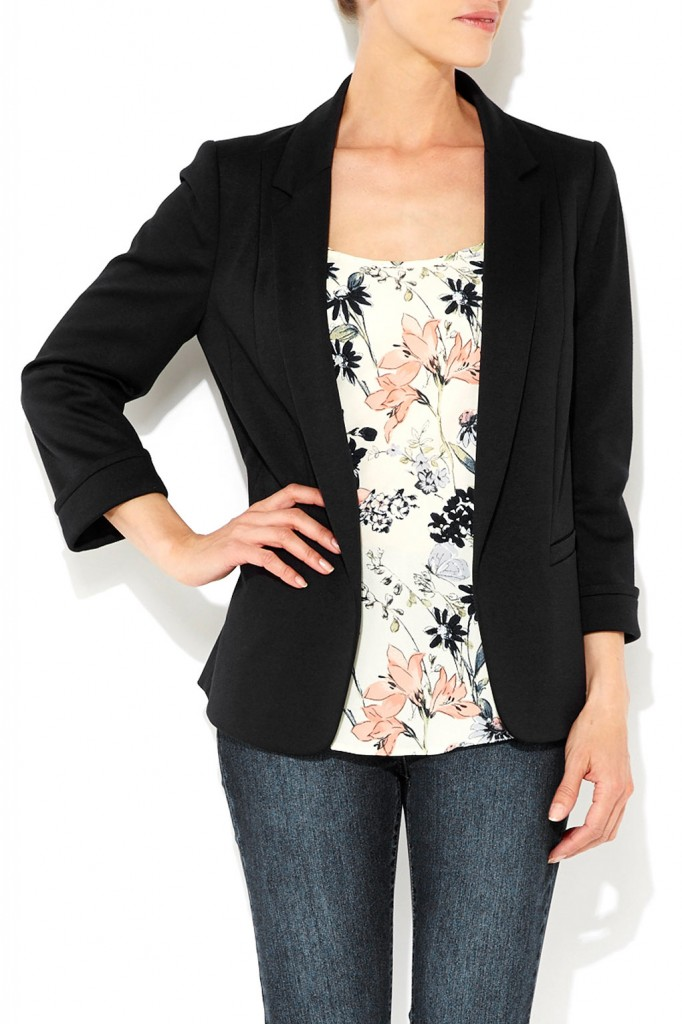 Black Blazer Was £40.00 Now £36.00 Click to visit Wallis