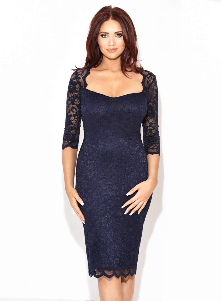 Amy Childs 'Lucia' Sweetheart Dress     Price: £65.00 click to visit Dorothy Perkins