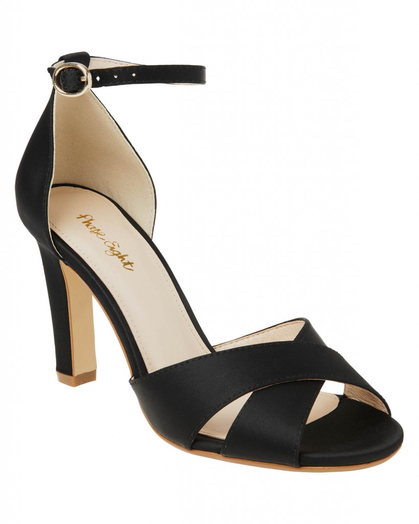 Ally Satin Block Heel Shoes £59.00 Was £89.00 click to visit Phase Eight