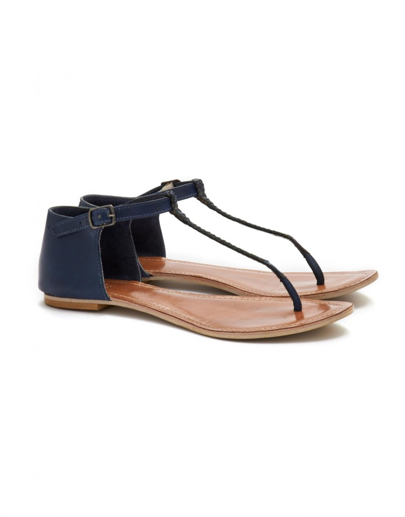 Livvie Womens Sandel, Navy £39.95 click to visit Joules
