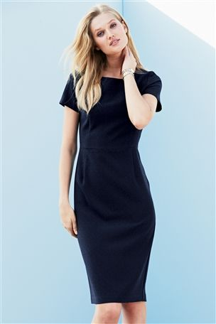 Crepe Dress £35 click to visit Next