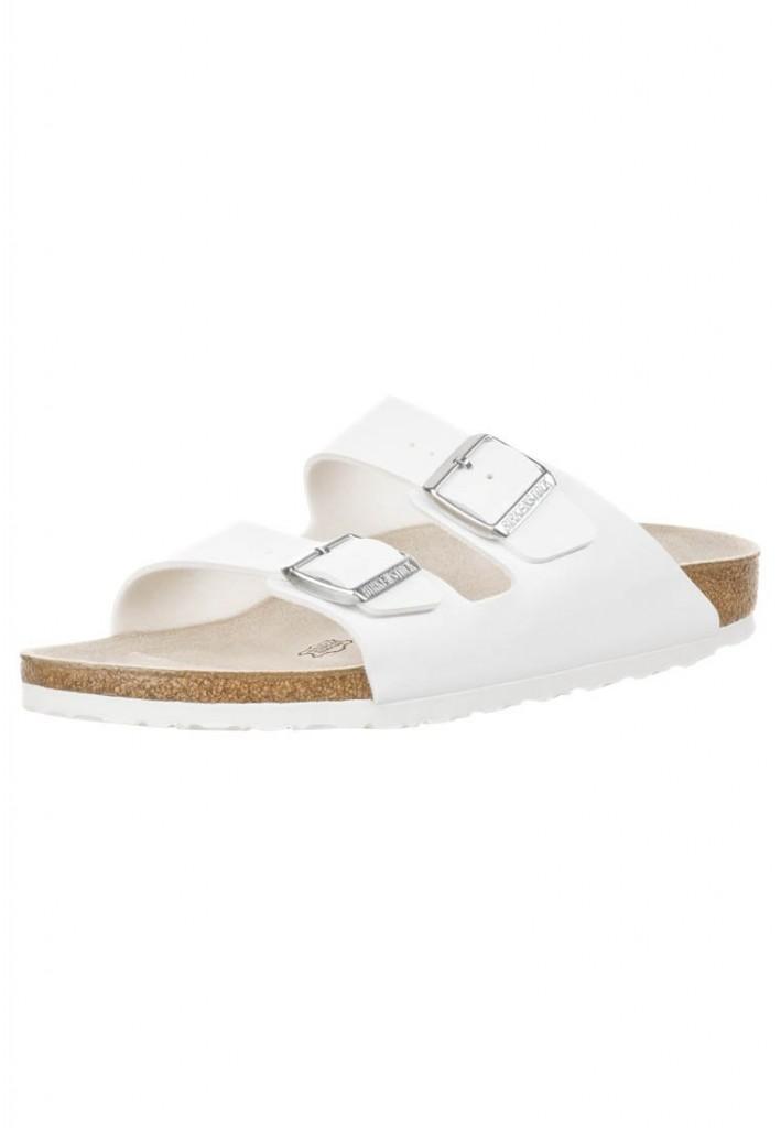 Birkenstock Birkenstock ARIZONA - Slippers - white £50 click to visit Zalando