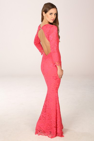 Faye Coral Maxi Dress £98 click to visit Honor Gold