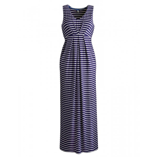 Laria Womens Maxi Dress, Indigo Stripe £69.95 click to visit Joules