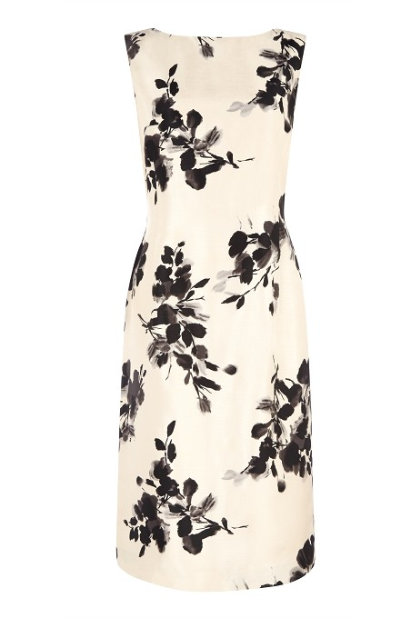 Floral Print Shift Dress Item No 010/031837/21 / Price £149.00 click to visit Jacques Vert