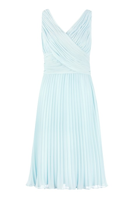 Pleat Midi Dress Item No 010/033488/147 / Price £169.00 click to visit Jacques Vert