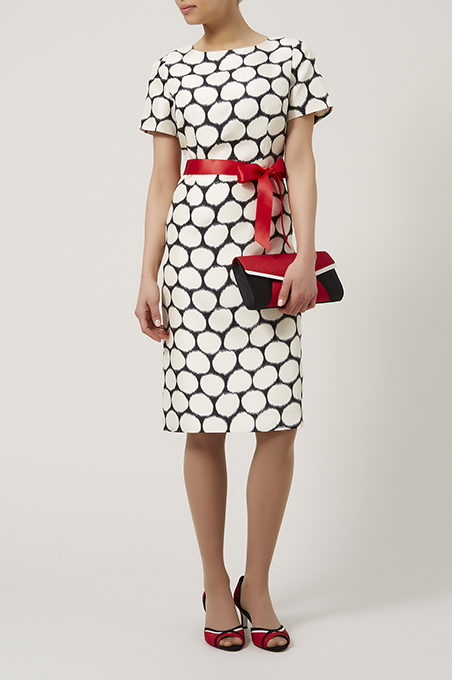 Blurred Spot Print Dress £149 click to visit Jacques Vert
