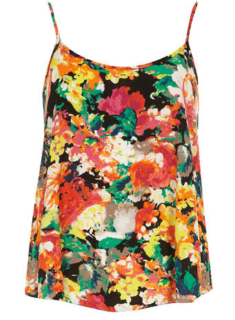 Black Splodge Floral Cami     Was £16.00     Now £14.40 click to visit Dorothy Perkins