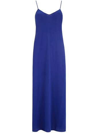 Cobalt cami maxi dress     Was £16.00     Now £11.20 click to visit Dorothy Perkins