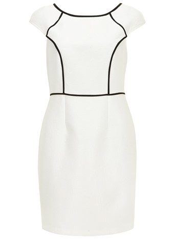 Black and white pencil dress     Price: £35.00 click to visit Dorothy Perkins