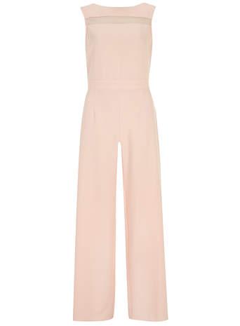 Blush crepe palazzo jumpsuit     Price: £42.00 click to visit Dorothy Perkins