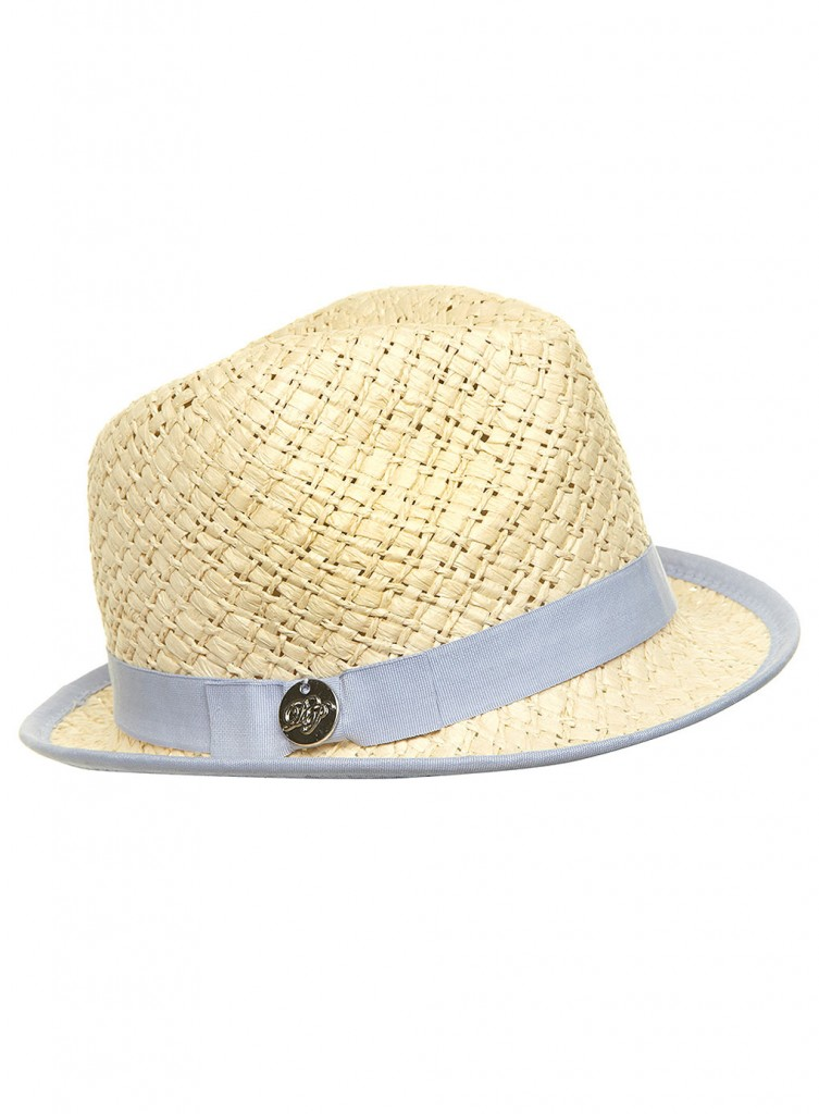 Blue Fedora Hat     Was £9.50     Now £7.60 click to visit Dorothy Perkins