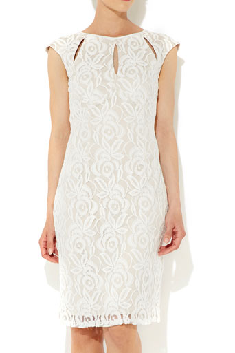 Stone Lace Keyhole Dress     Price: £50.00 click to visit Wallis