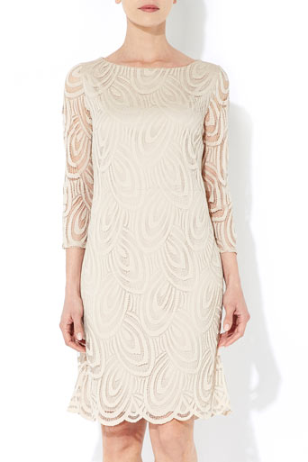 Stone Lace Dress     Price: £45.00 click to visit Wallis